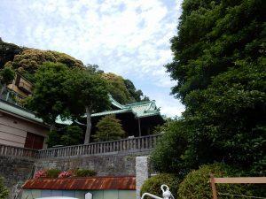 叶神社 横須賀 ご利益 御朱印 パワースポット 拝観時間 駐車場 地図 アクセス 見どころ 23