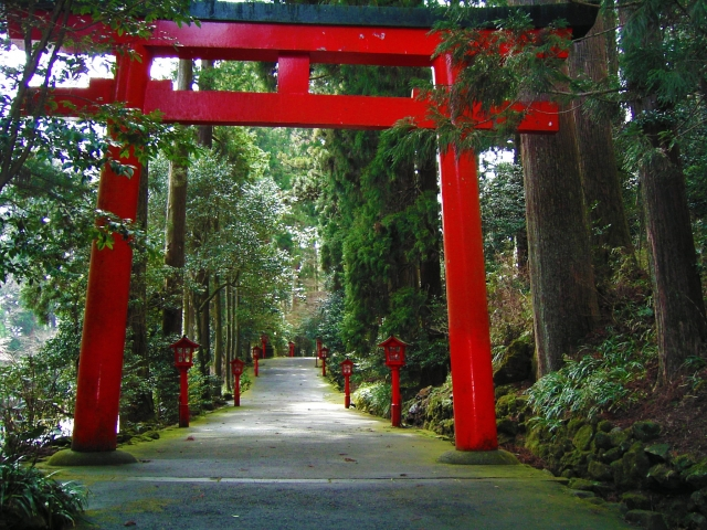 箱根 箱根神社 箱根元宮神社 九頭龍神社 ご利益パワースポットで御朱印