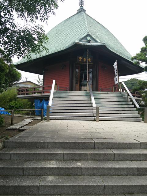 鎌倉七福神 鎌倉妙隆寺本覚寺御霊神社で七福神 ご利益パワースポットで御朱印