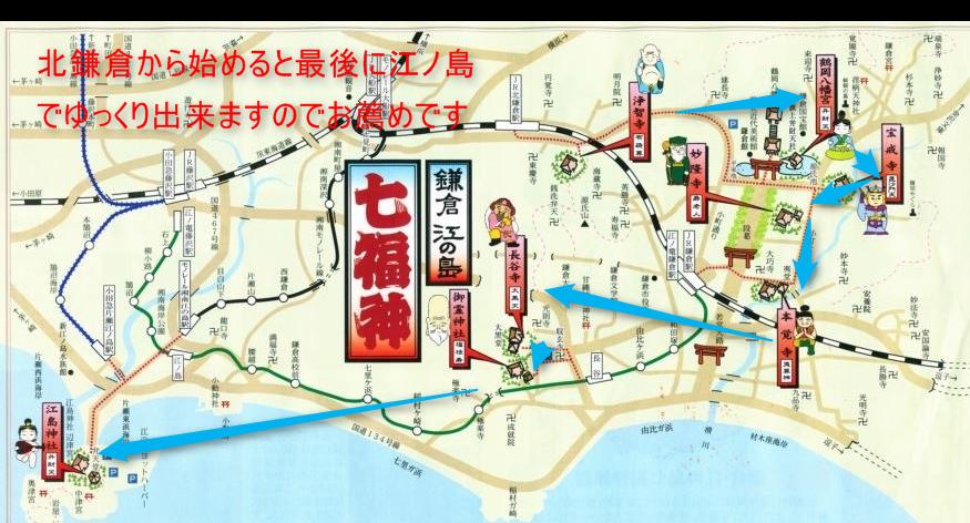 鎌倉江ノ島七福神巡り お勧め