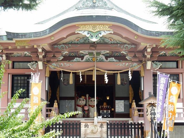 浅草 今戸神社 招き猫 沖田総司 ご利益パワースポットで御朱印