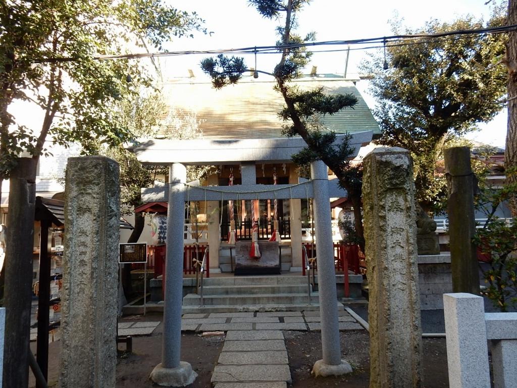 東京 皆中神社 ご利益パワースポットで御朱印