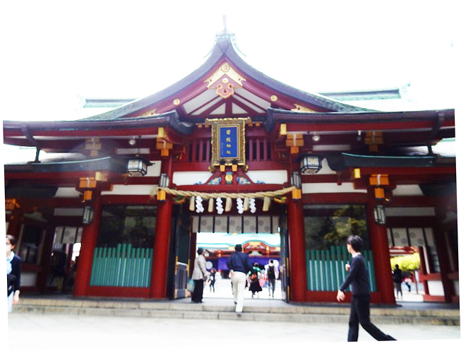 4.日枝神社神門